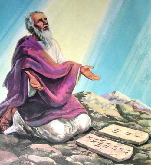 MOSÈ E LE TAVOLE DELLA LEGGE