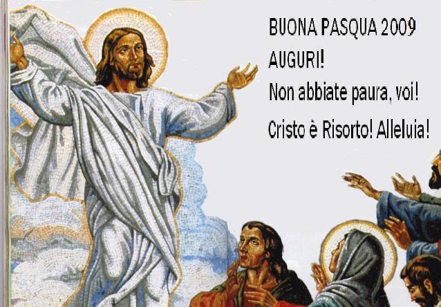 APPARIZIONE DI GESU' RISORTO